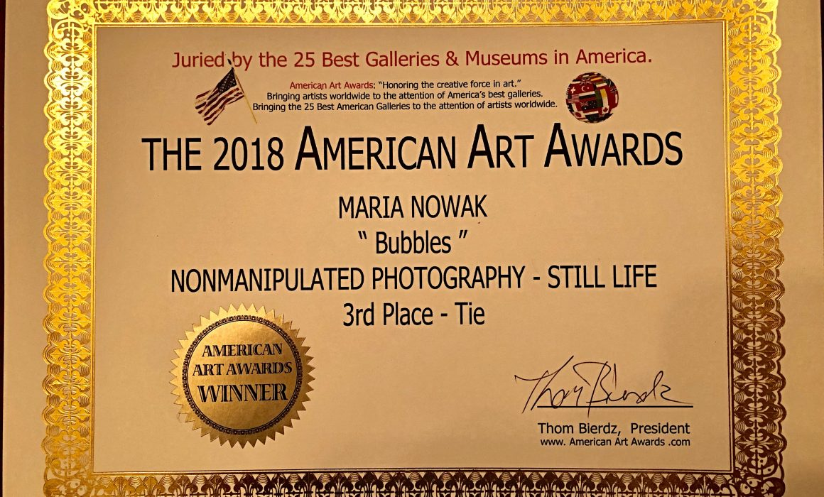 The 2018 American Art Awards - Bubbles