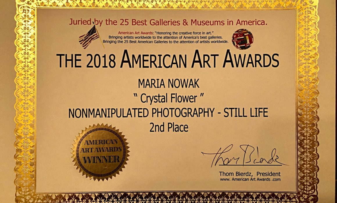 The 2018 American Art Awards - Crystal Flower
