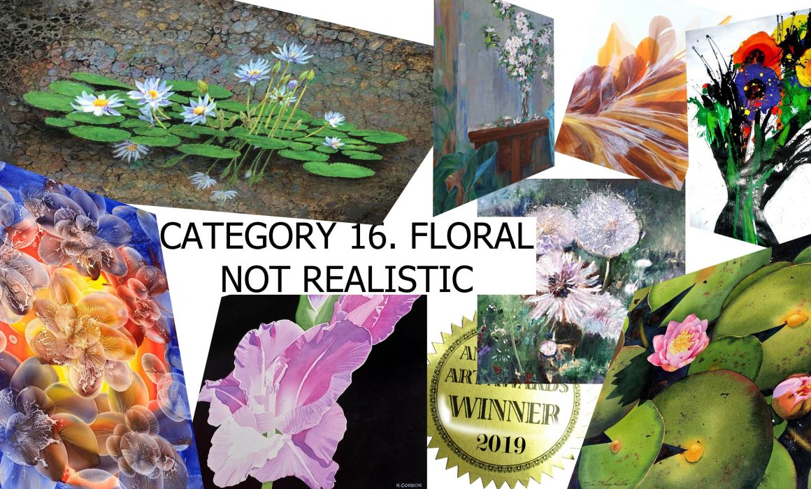 25 BEST GALLERIES NAME 2019'S BEST FLORALS (NOT REALISM)