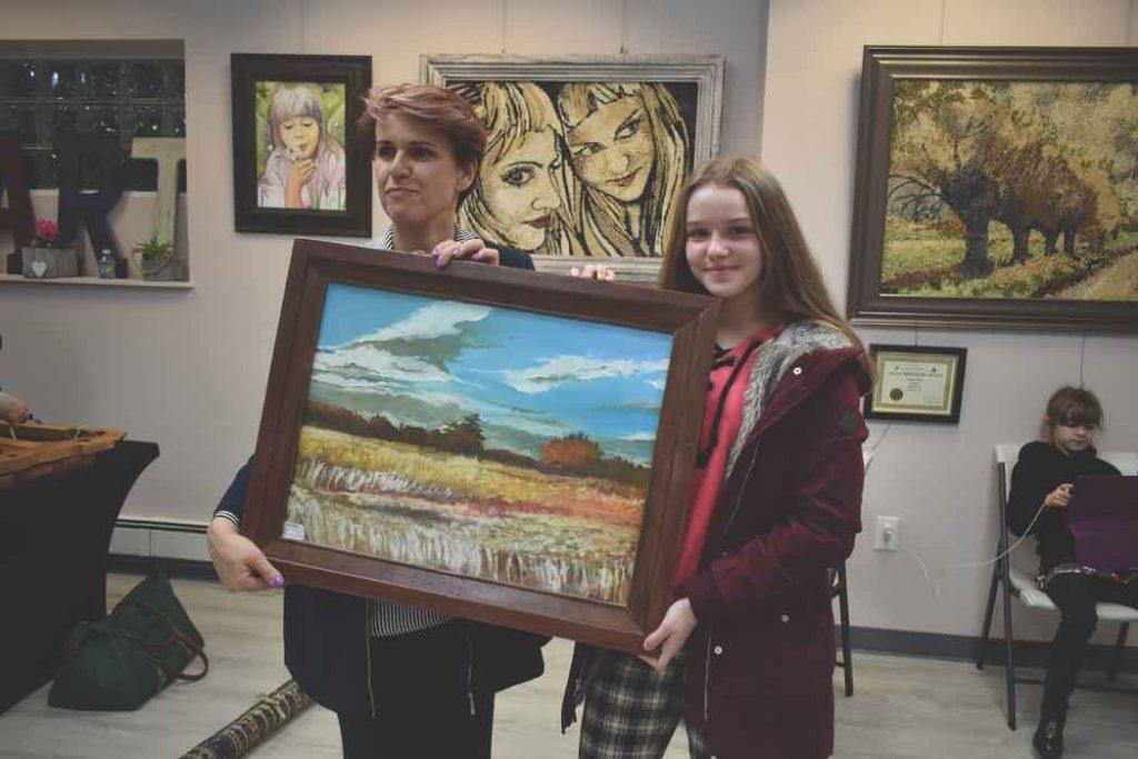Olga Bazela wygrala obraz Majki Nowak